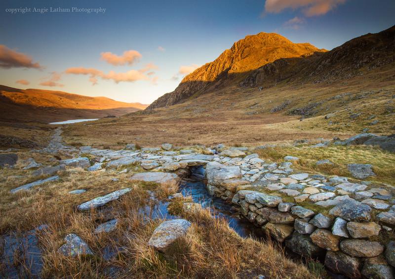 Sunset on Tryfan - Celtic Wales