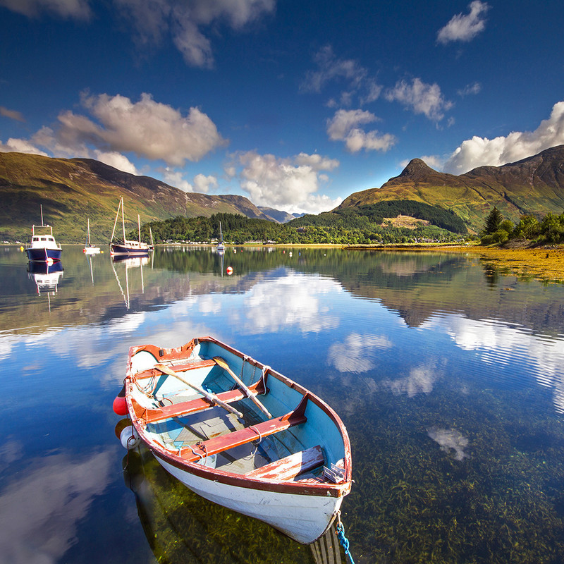 PS144 Summer on Loch Leven, Glencoe - Scottish Landscapes