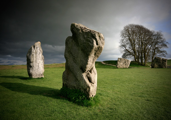 Avebury Winter Light 2 - Ancient Sites