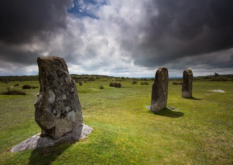 The Hurlers, Bodmin Moor 3 - Ancient Sites