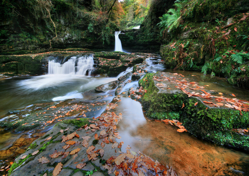 Sgwd Isaf Clun Waterfall 2 - Celtic Wales