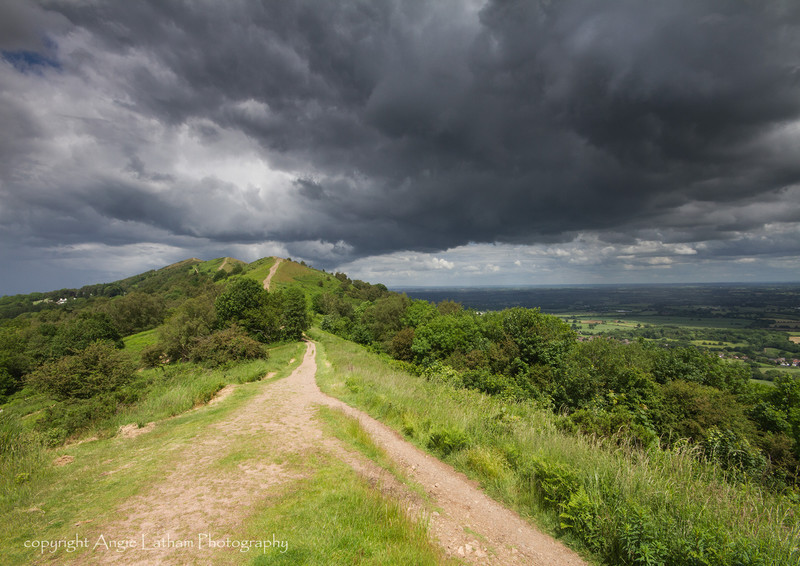 Green and Grey - The Malvern Hills