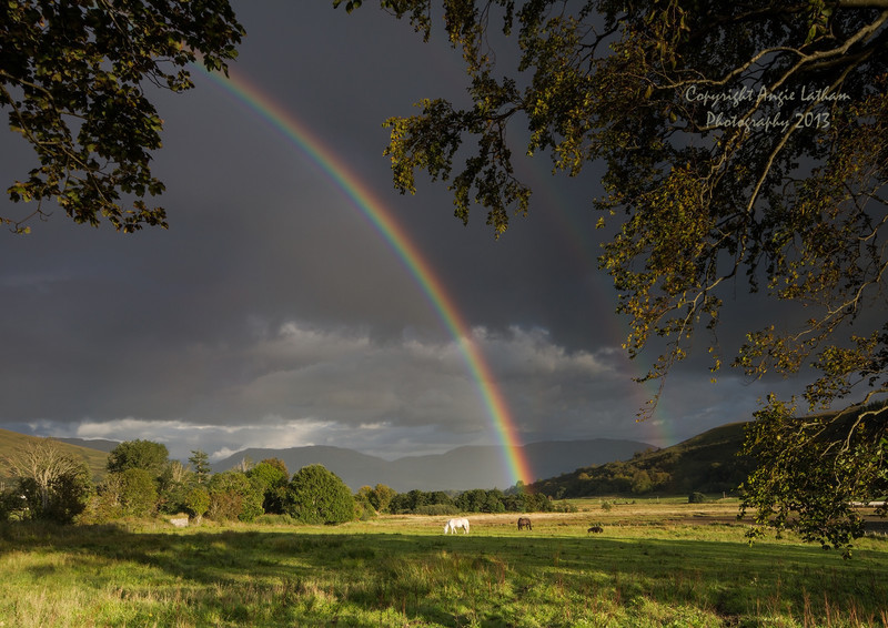Appin Rainbow - Highlands of Scotland