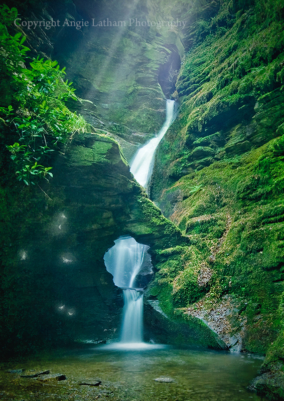 St.Nectan's Glen with Scatterflies - Enchanted Places