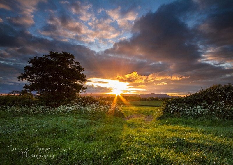 Worcestershire Sunset - England & The Shires