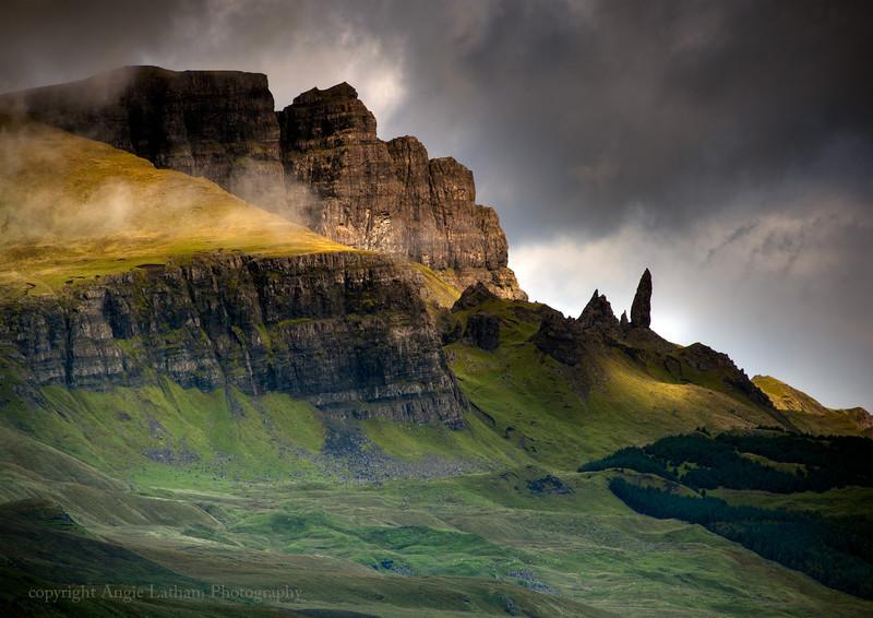 Fleeting Light on Storr - Isle of Skye