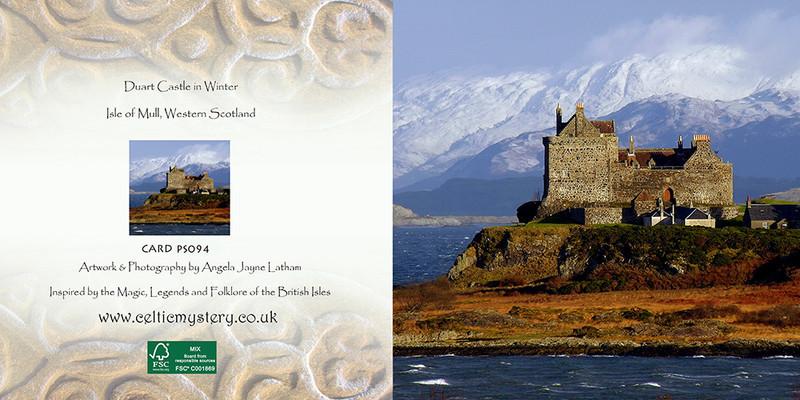 PS094 Duart Castle Winter - Scottish Landscapes