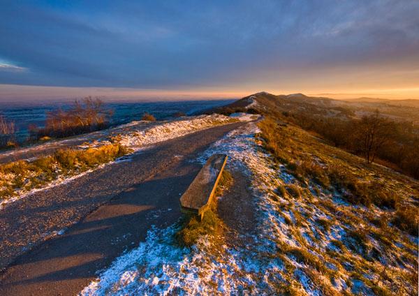 Winter Gold - The Malvern Hills