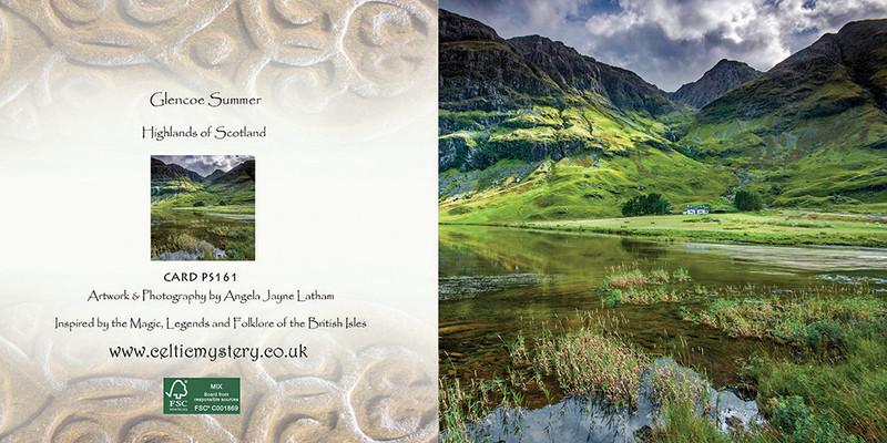 PS161 Glencoe Cottage - Scottish Landscapes