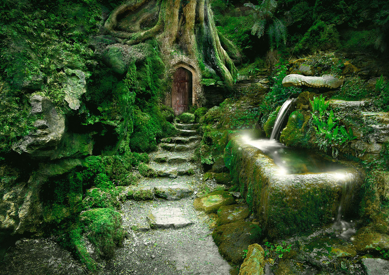 Entrance to Rivendell - Enchanted Places