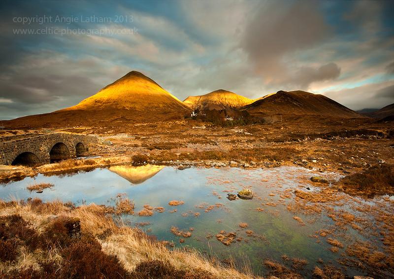 Glen Sligachan Gold 2 - Isle of Skye