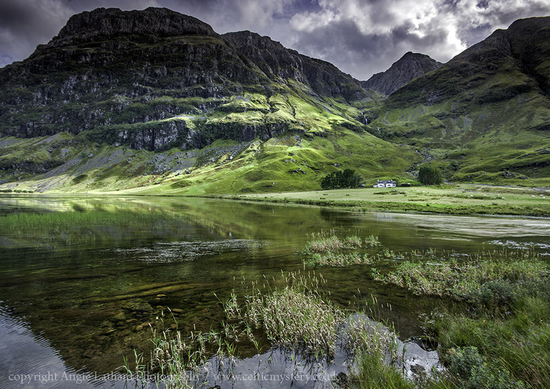 Deep in the Glen - Glencoe - Highlands of Scotland
