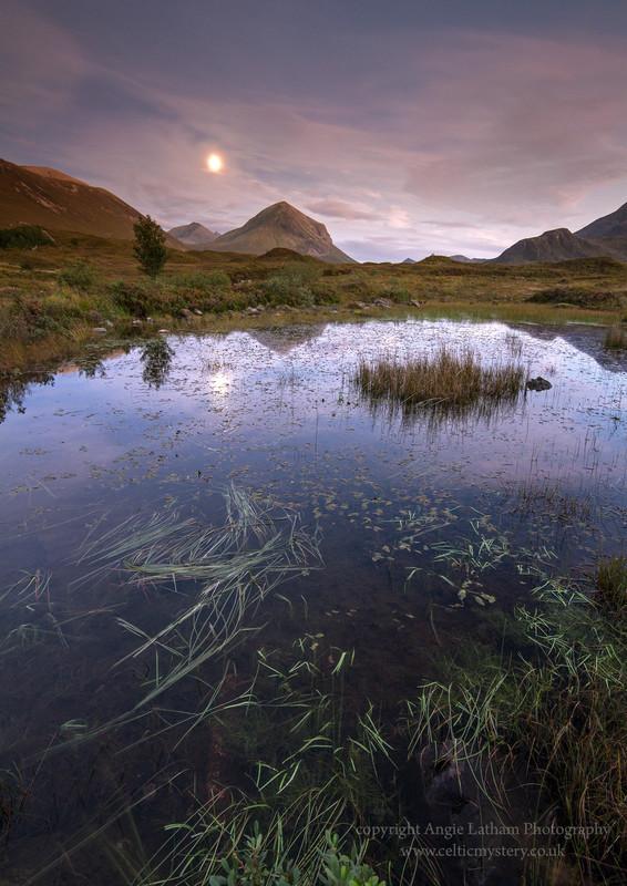 Sligachan Moonrise 2 - Isle of Skye