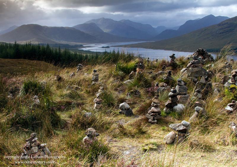 Glen Garry Cairns - Highlands of Scotland