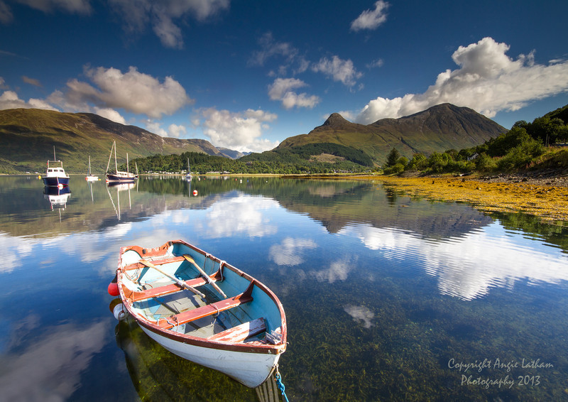 Summer on Loch Leven - Highlands of Scotland