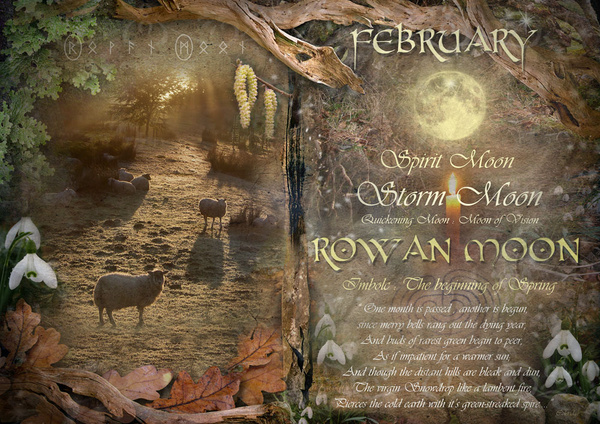 February : Rowan Moon - The Wheel of the Year