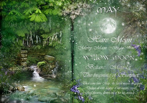 May-Willow Moon - The Wheel of the Year