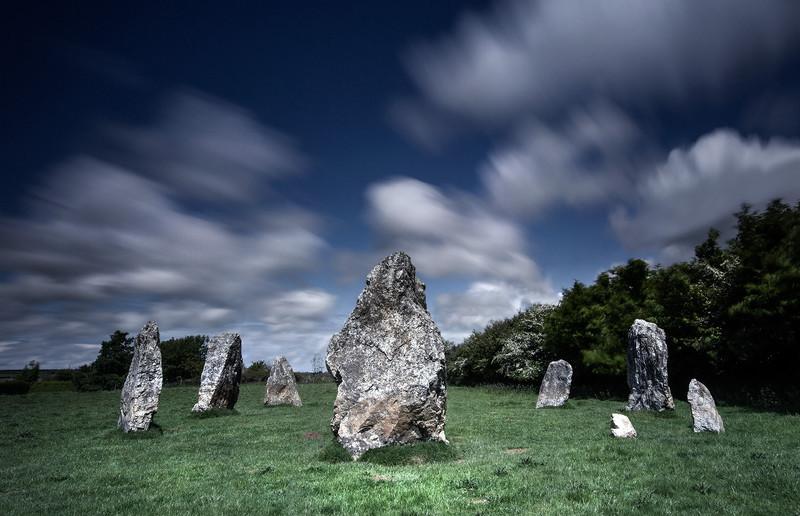 Duloe Stone Circle, Cornwall - Ancient Sites