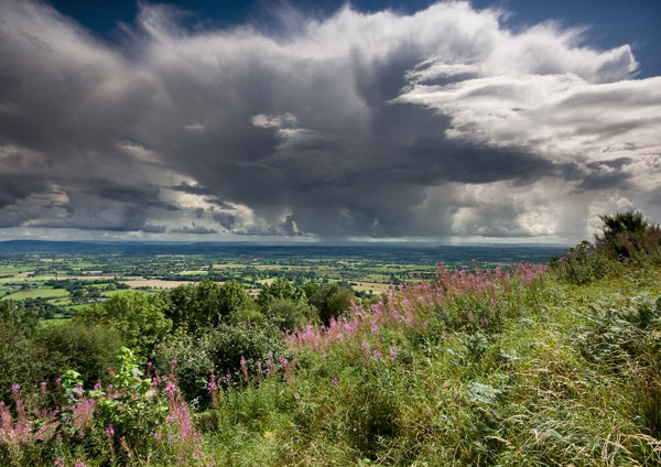 Cotswold Storm - The Malvern Hills