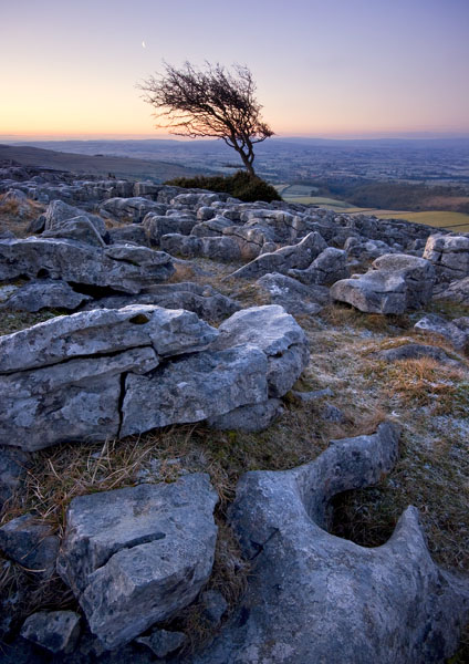 Twistleton Scar Sunrise - England & The Shires