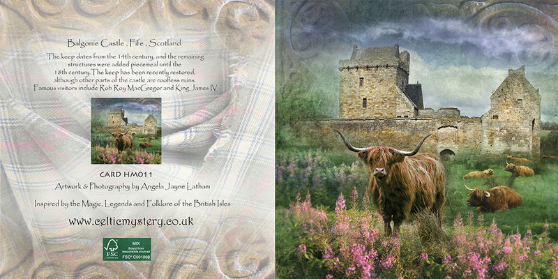 HM 011 Balgonie Castle, Fife - Spirit of the Highlands