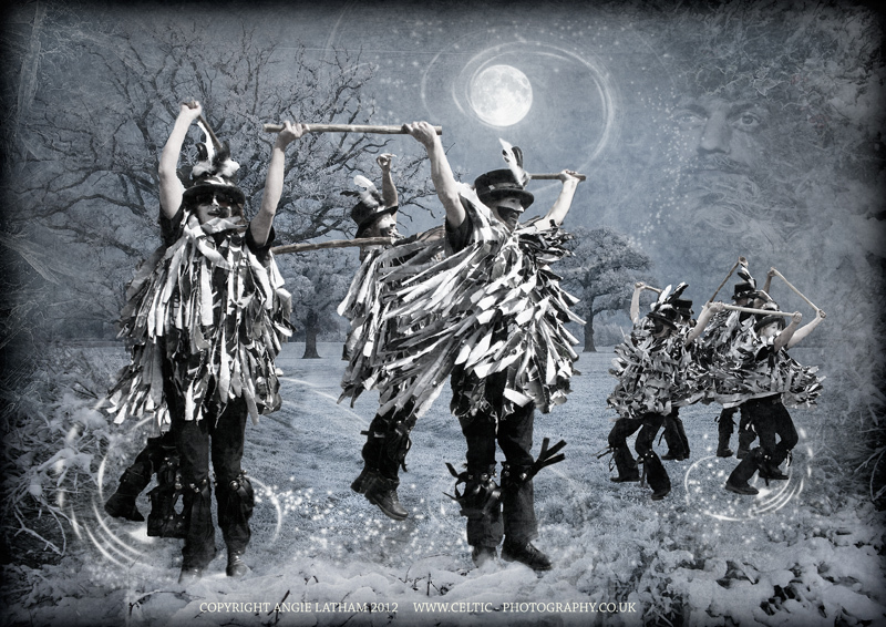 Winter Solstice Morris dance - The Wheel of the Year