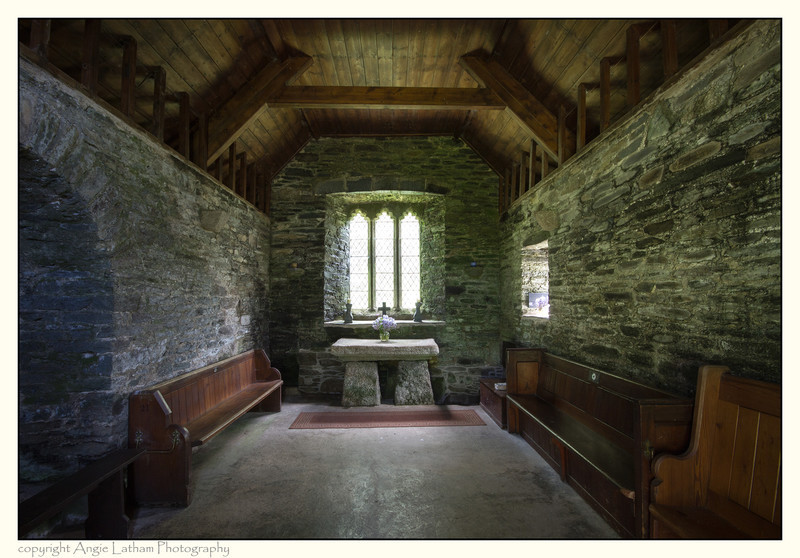 St.Clether's Chapel Interior - Holy Wells and Sacred Springs