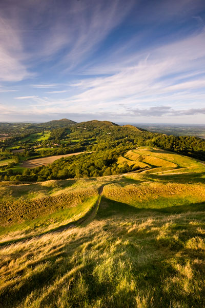 Evening on British Camp 1 - The Malvern Hills