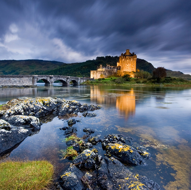 PS023 Eilean Donan Twilight - Scottish Landscapes