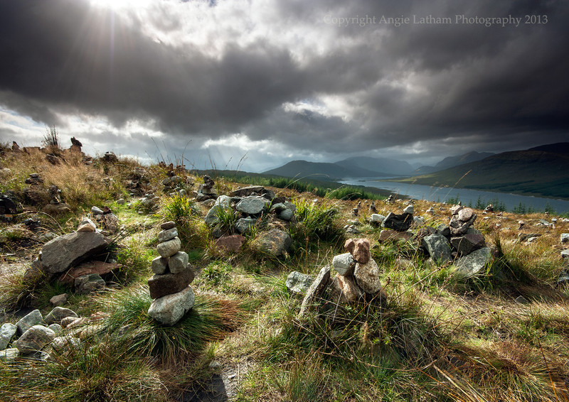The Hill of Lonely Cairns, Scotland - Ancient Sites