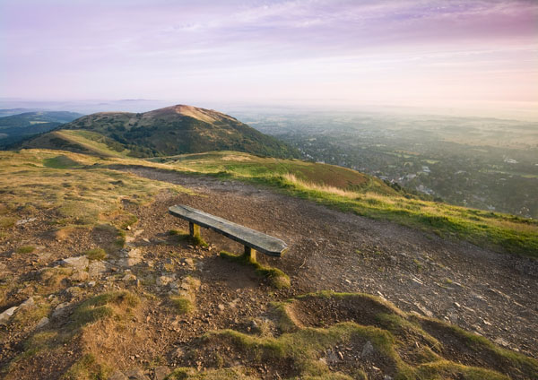 Beacon Bench - The Malvern Hills