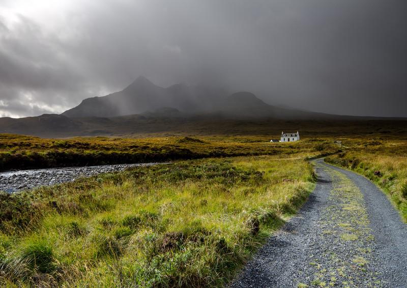 Approaching Squall - Sligachan - Isle of Skye