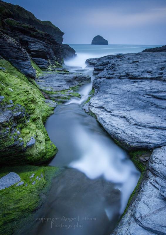 Trebarwith Strand Blues - Celtic Cornwall