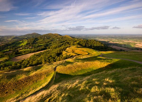 Evening on British Camp 2 - The Malvern Hills