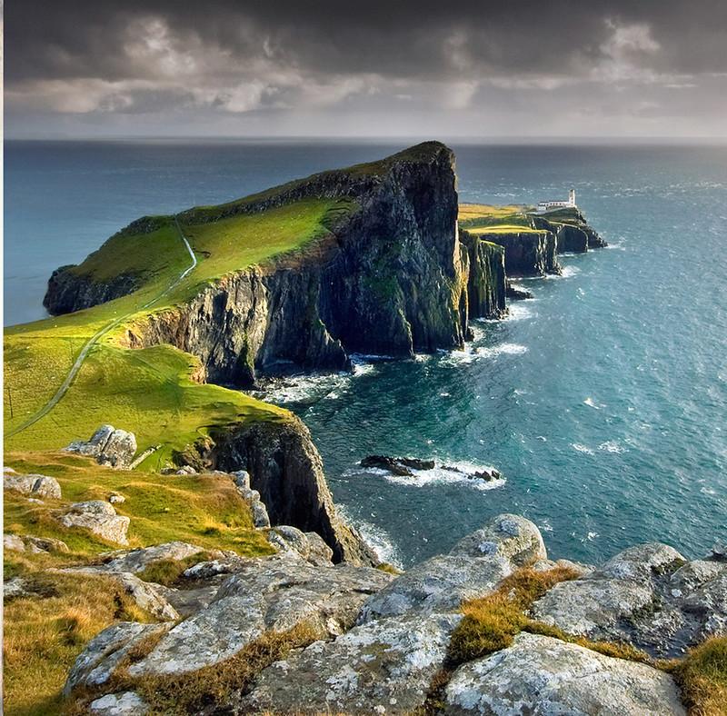 PS048 Neist Point Lighthouse - Scottish Landscapes
