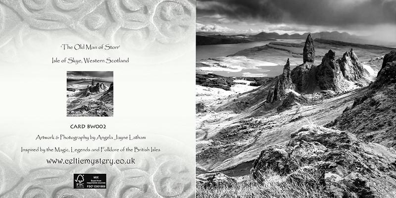 BW002 The Old man of Storr, Skye - Scotland in Black & White