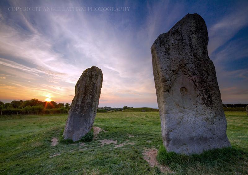 Avebury Sunset 1 - Ancient Sites
