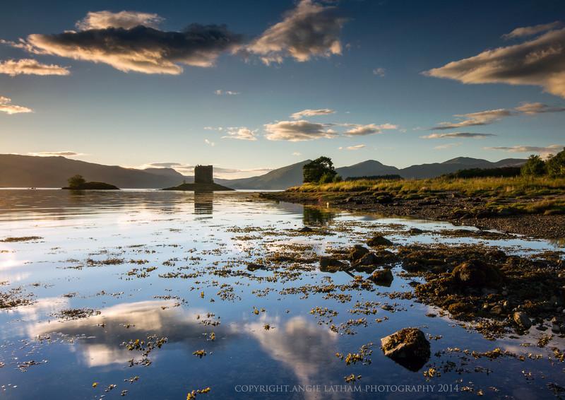 Castle Stalker Reflections - Highlands of Scotland