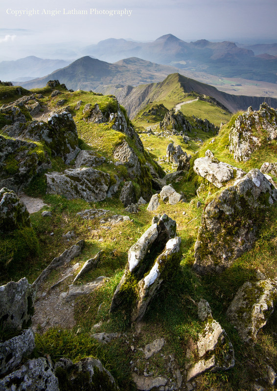 View from Snowdon 2 - Celtic Wales