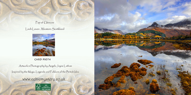 PS074 Pap of Glencoe - Scottish Landscapes