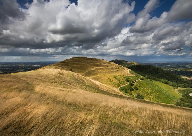Golden British Camp - The Malvern Hills