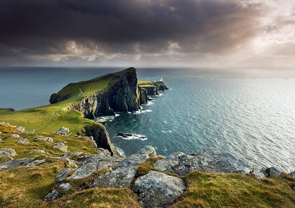 Neist Point Sunburst - Isle of Skye