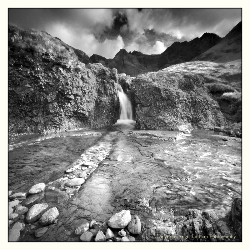 The Fairy Pools - Skye BW - Black & White