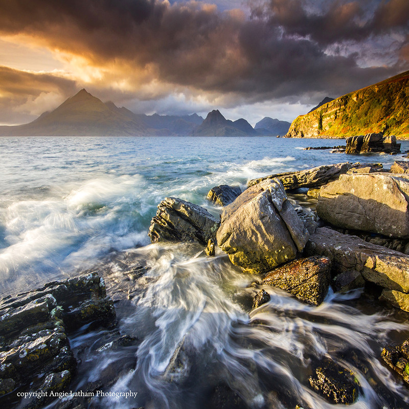 NEW! PS165 Elgol Sunset, Skye - Scottish Landscapes