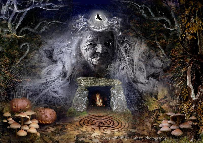Samhain Goddess - The Wheel of the Year