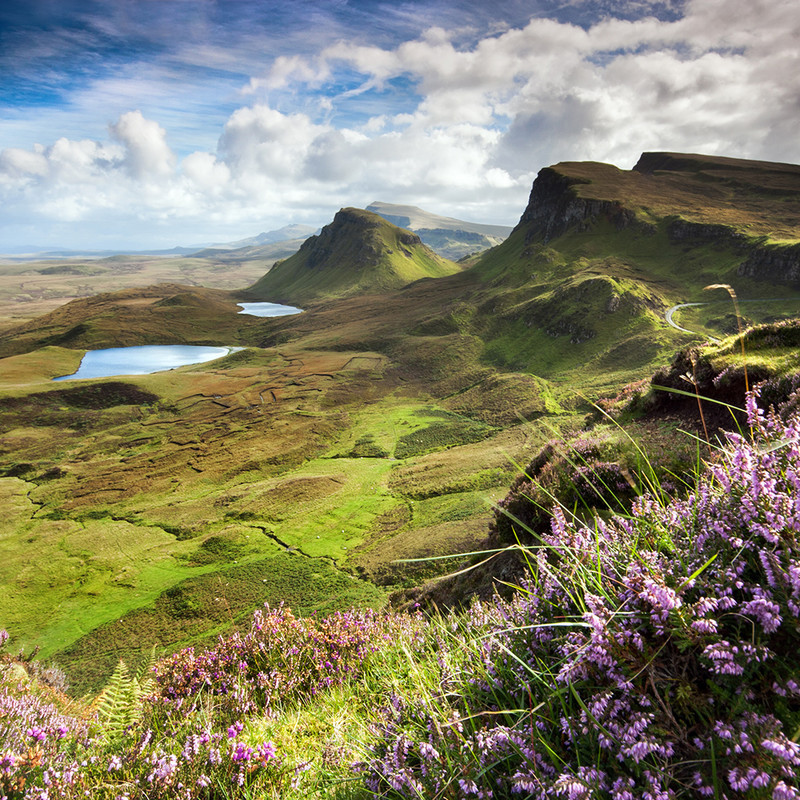 PS043 My Bonnie Heather , Isle of Skye - Magical Britain