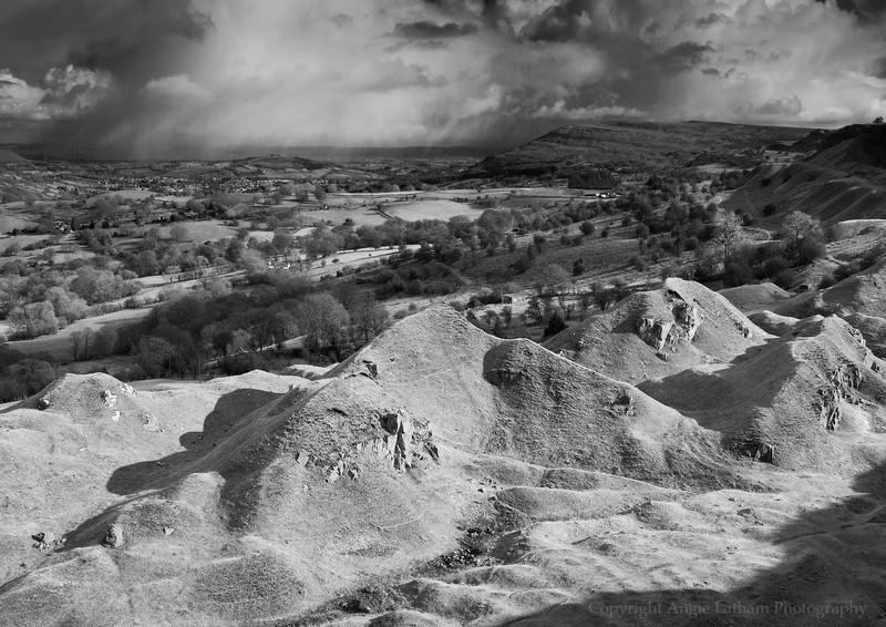 Brecon Escarpment 1 - Black & White