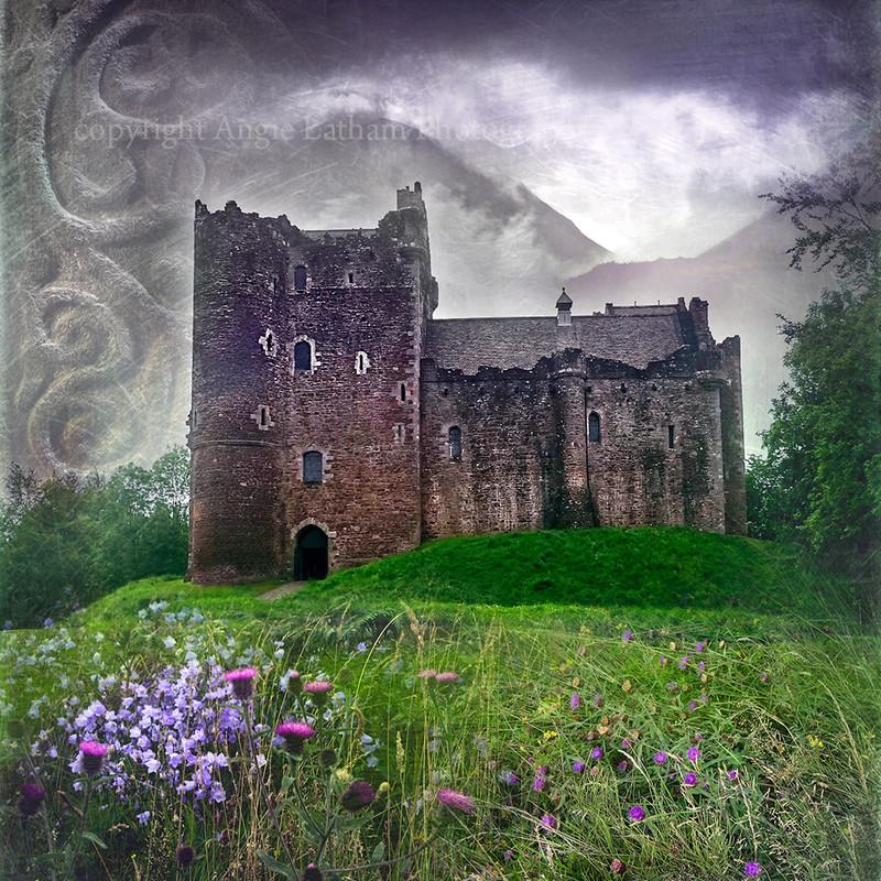 HM 010 Doune Castle , Stirling (Castle Leoch from Outlander) - Spirit of the Highlands