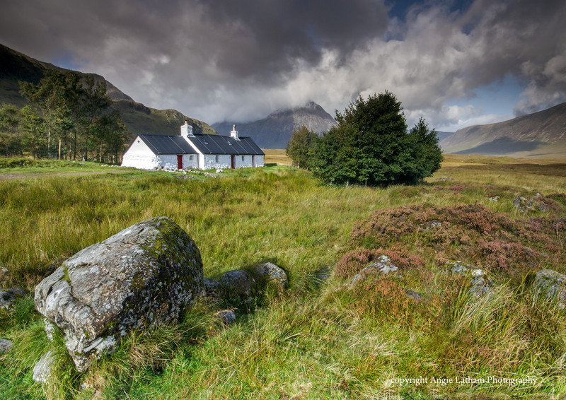 Blackrock Cottage Summer - Highlands of Scotland