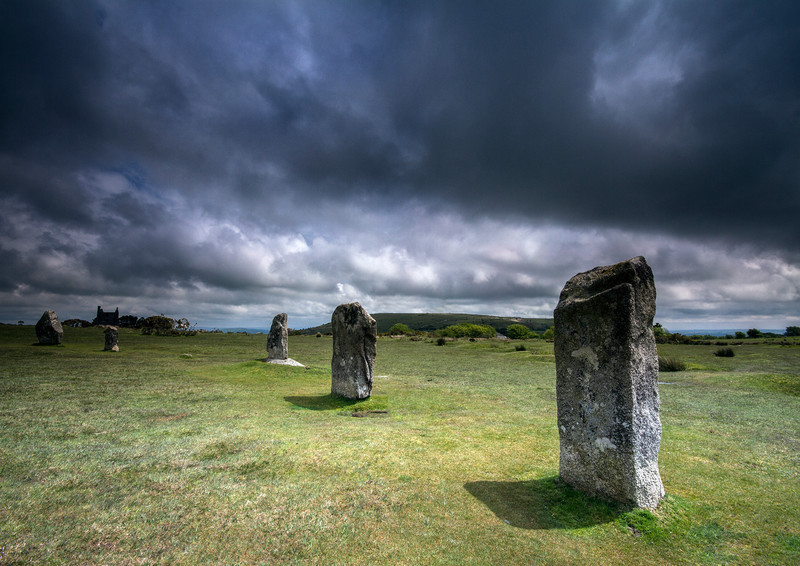 The Hurlers, Bodmin Moor 2 - Ancient Sites